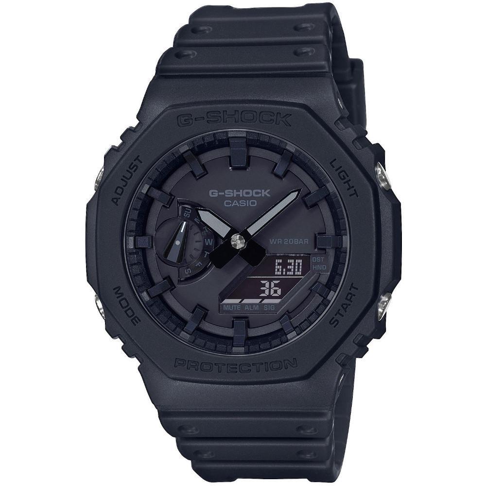 Casio G-Shock Analog Digital Uhr schwarz GA-2100-1A1ER