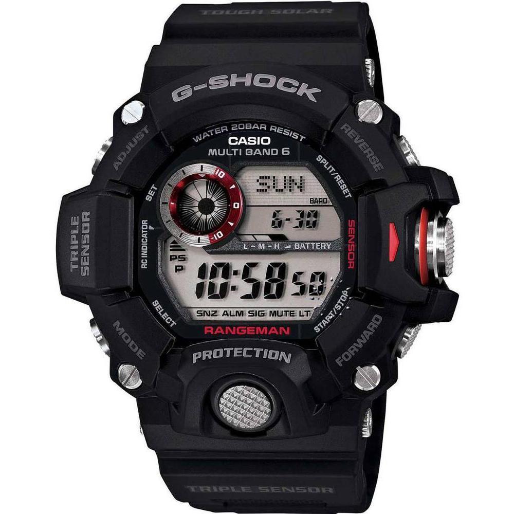 Casio G-Shock Rangeman Solaruhr Funkuhr schwarz GW-9400-1ER